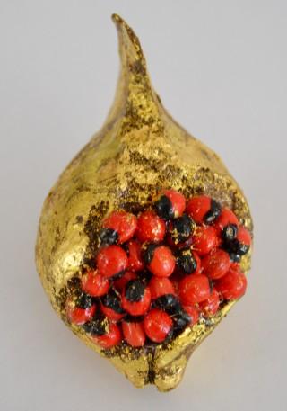 Andaman Islands seed brooch