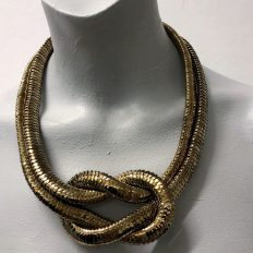 Snaky bead cap – bronze – knot – £55