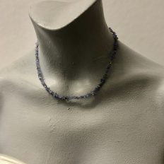 Genuine Tanzanite with Sterling Silver finishes – £65